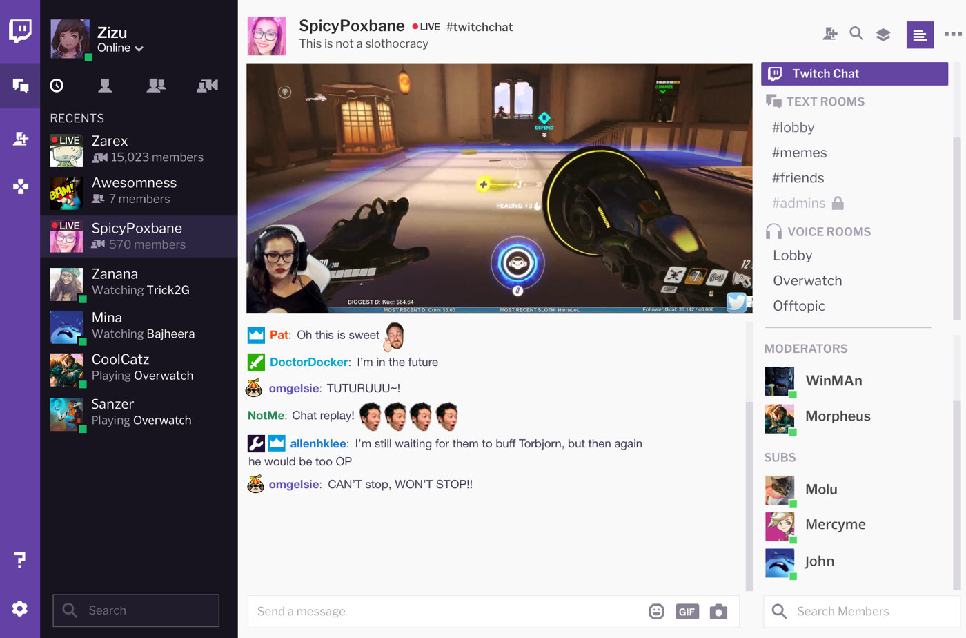 Twitch's Desktop App (Photo: Twitch)
