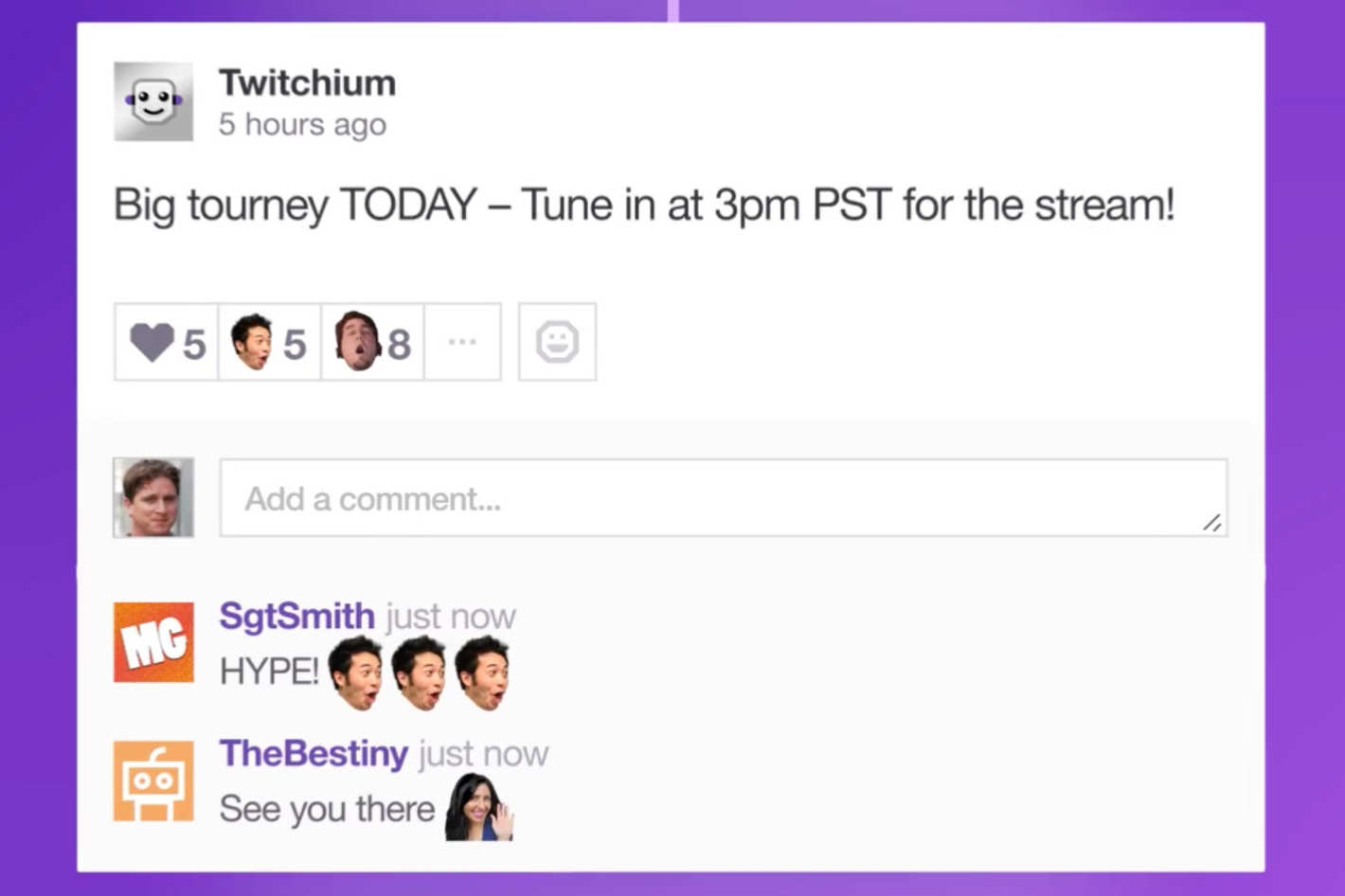 Twitch's Social Platform Pulse (Photo: Twitch)