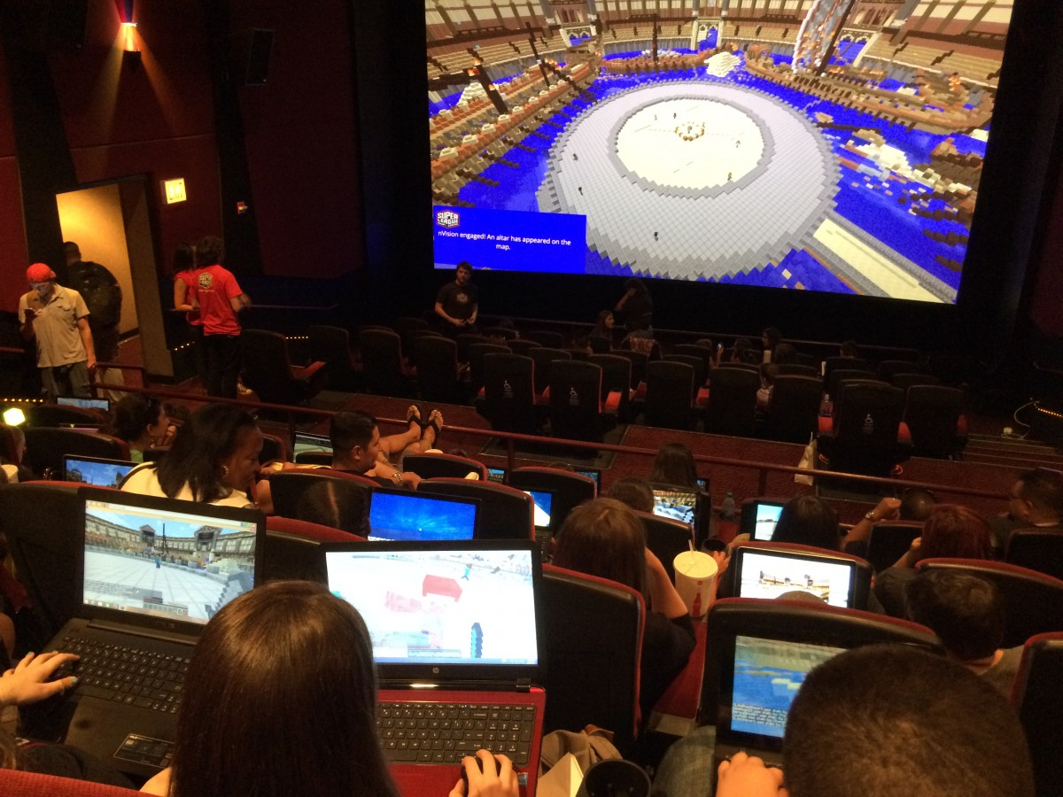 Super League Gaming's Minecraft Event (Photo: Miriam Di Nunzio/Sun-Times)