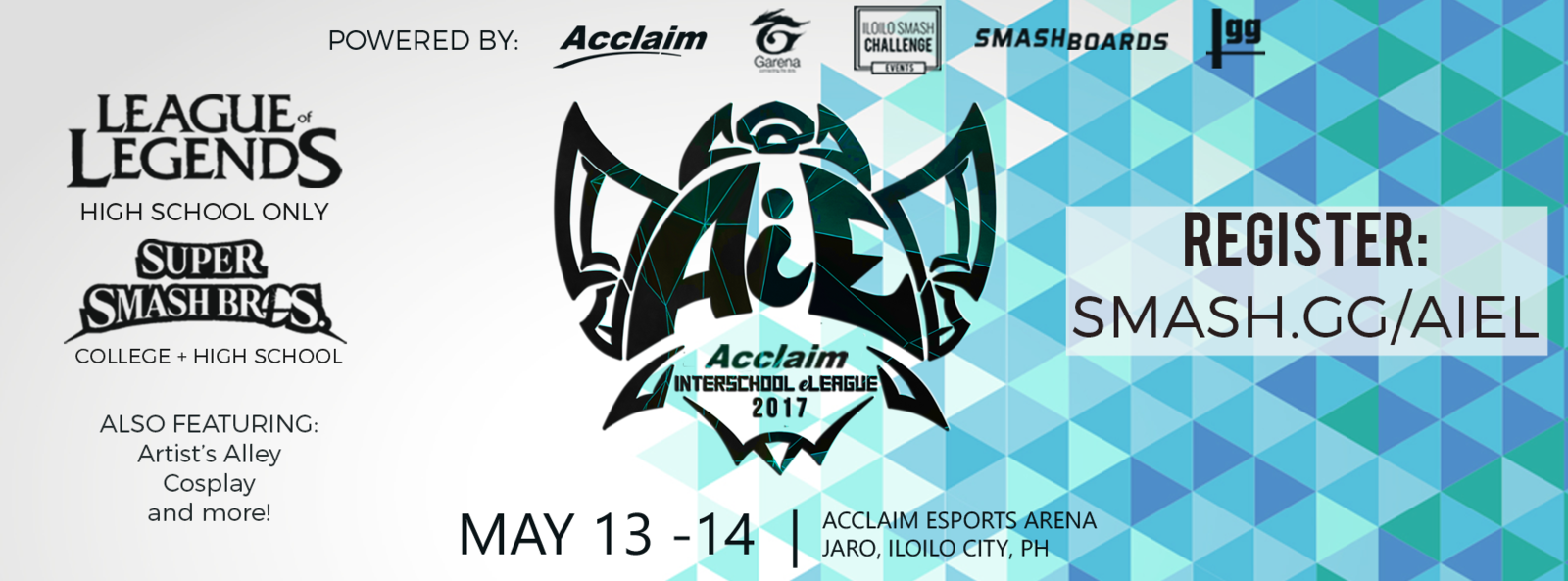 Acclaim Interschool eLeague (Photo: HS, SmashGG)