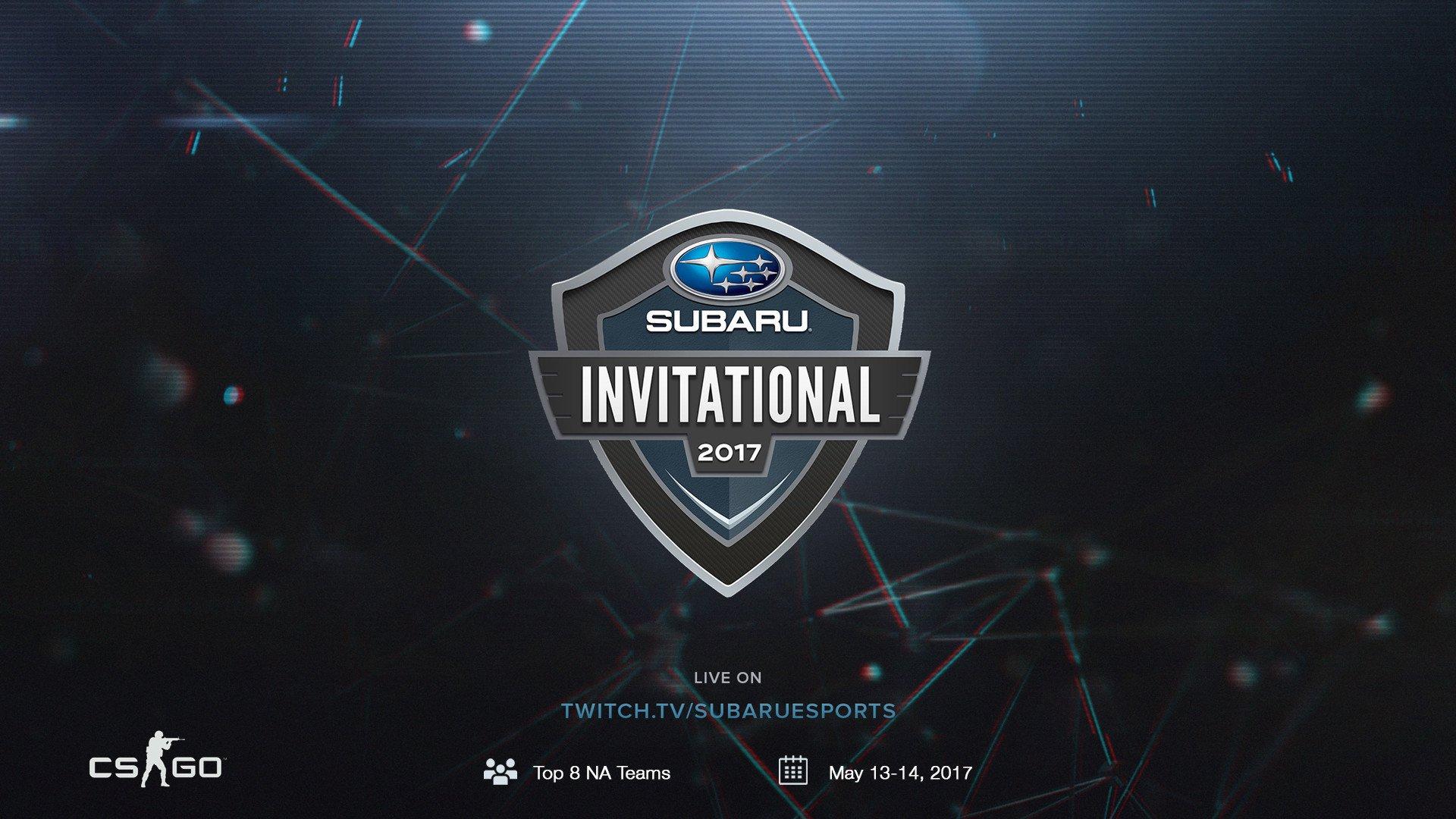 TNL eSports Brand Tracker 008: Subaru Invitational 2017 (Photo: SubaruEsports TwitchTV)