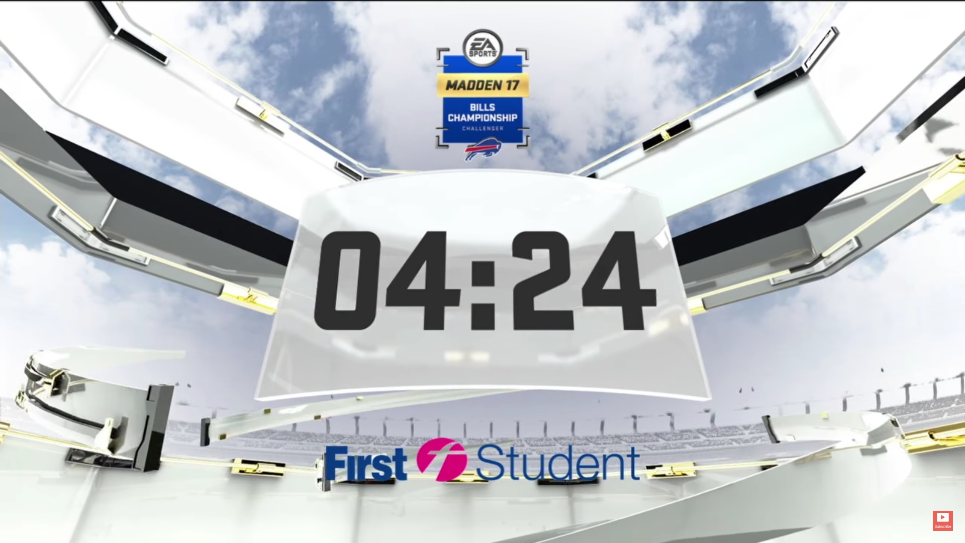 First Student Countdown Clock Placement (Photo: YouTube)