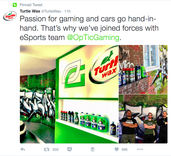 Turtle Wax First Partnership With OpTic Gaming (Photo: Turtle Wax)