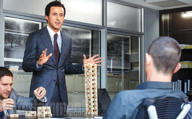 "That's not anyone from Morgan Stanley. It's from ""The Big Short"" (Photo: Plan B Entertainment)"