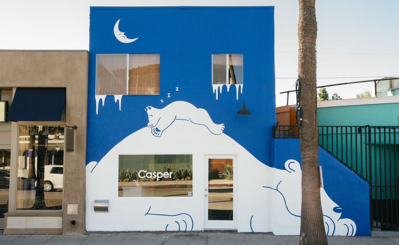 Casper's Los Angeles Pop Up Store (Photo: Racked LA)