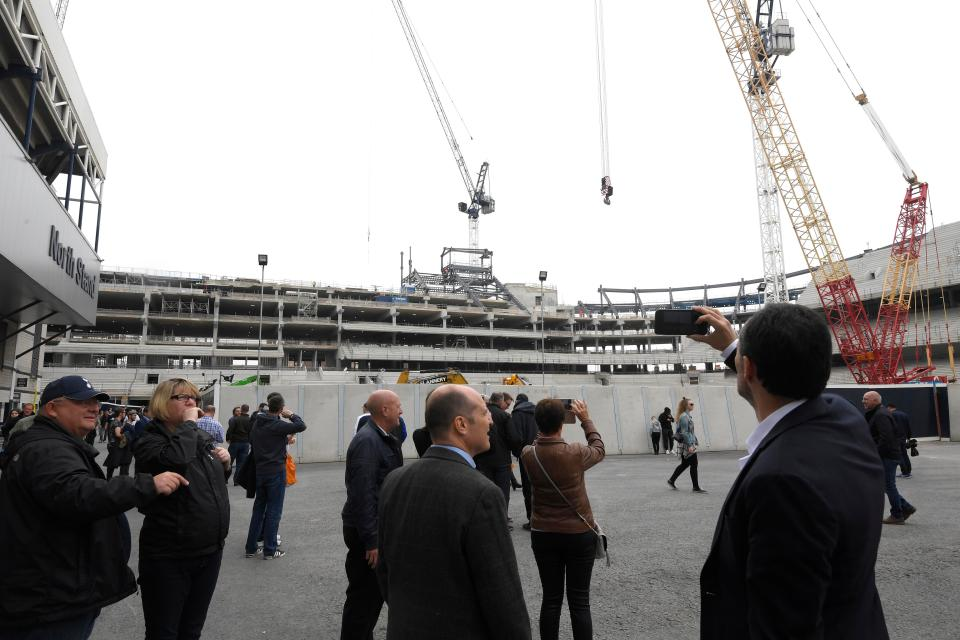 Tottenham's New Stadium (Photo: Press Association)