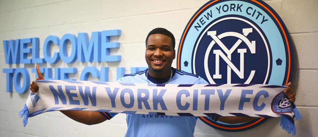 MLS's 1st eSports Signing: NYC FC's Chris Holly (Photo: NYC FC)