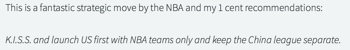 NBA eSports In China from The Next Level 200 (Photo: The Next Level)