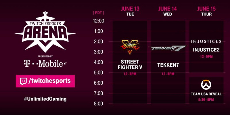 Twitch eSports Arena Presented By T-Mobile (Photo: Twitch)