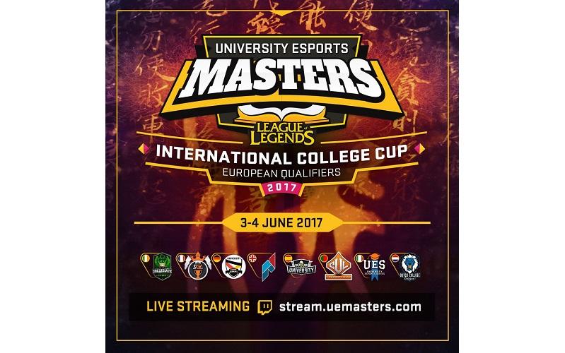 University eSports Masters in 2017 (Photo: UEMasters)