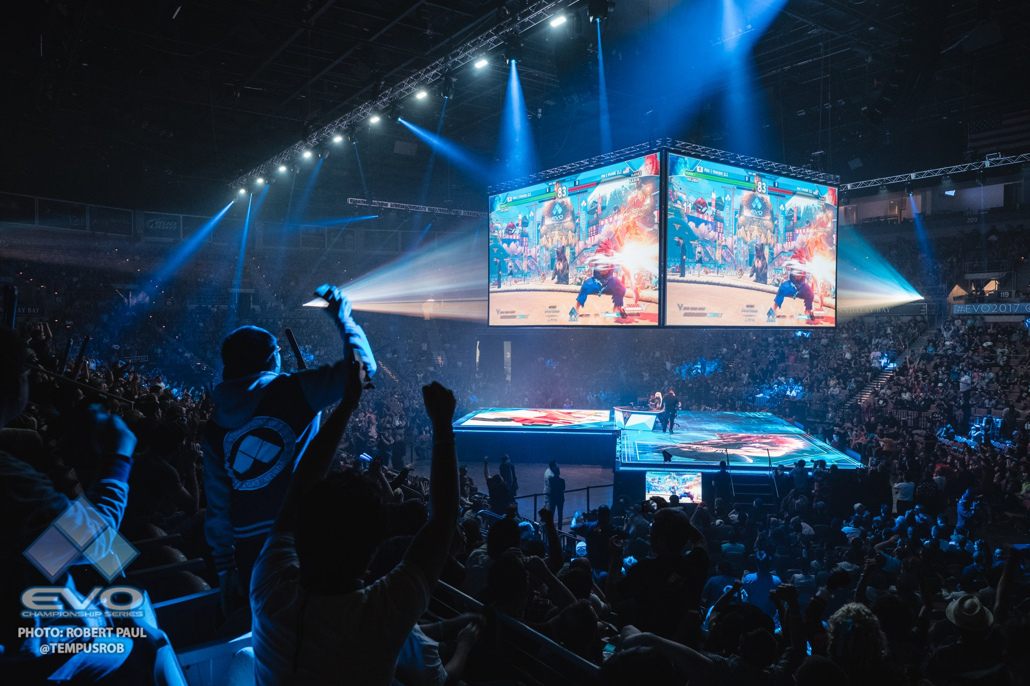 EVO 2017 Finals (Photo: EVO, Robert Paul)