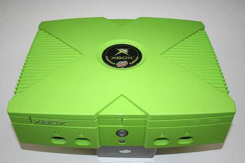Mt. Dew Branded Xbox (Photo: Wikipedia)