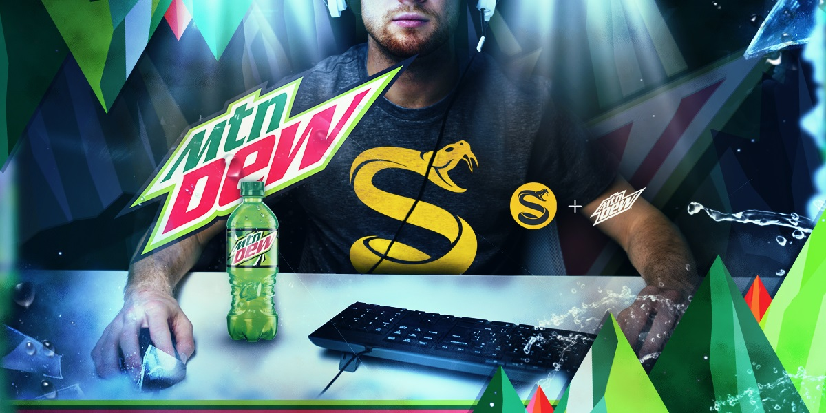Mountain Dew Sponsors 3 eSports Teams (Photo: Splyce)