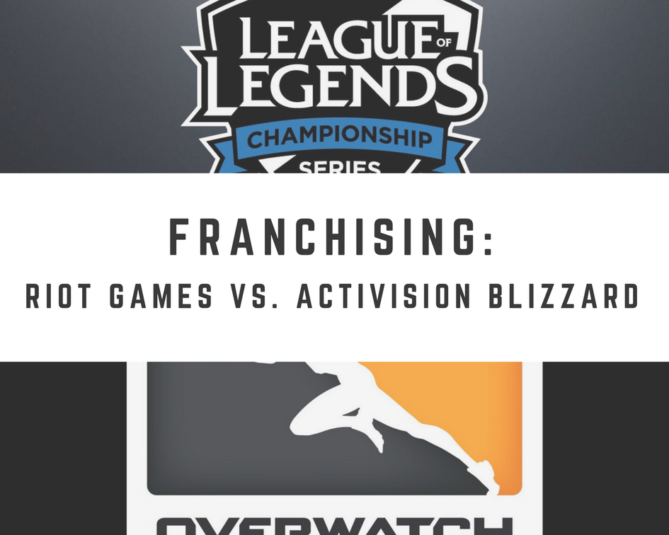 Franchising: Riot Games vs. Activision Blizzard (Graphic: The Next Level)