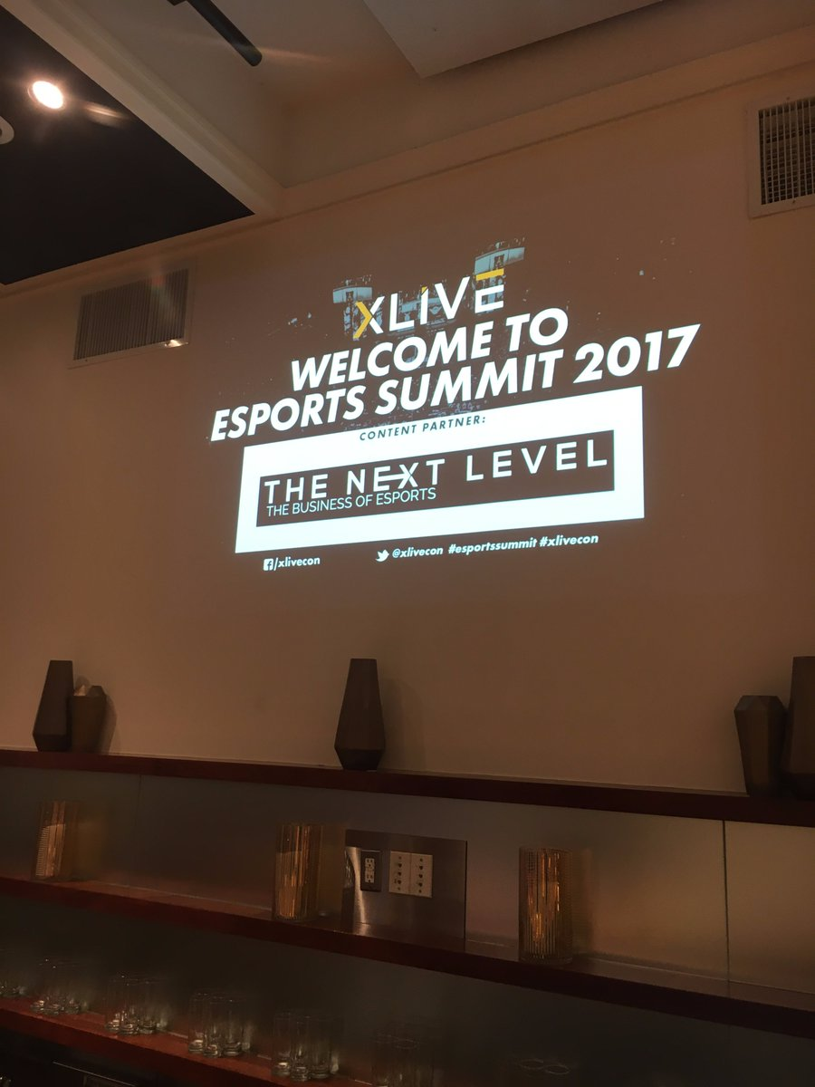 The Next Level Official Content Partner of XLIVE eSports Summit (Photo: XLIVE)