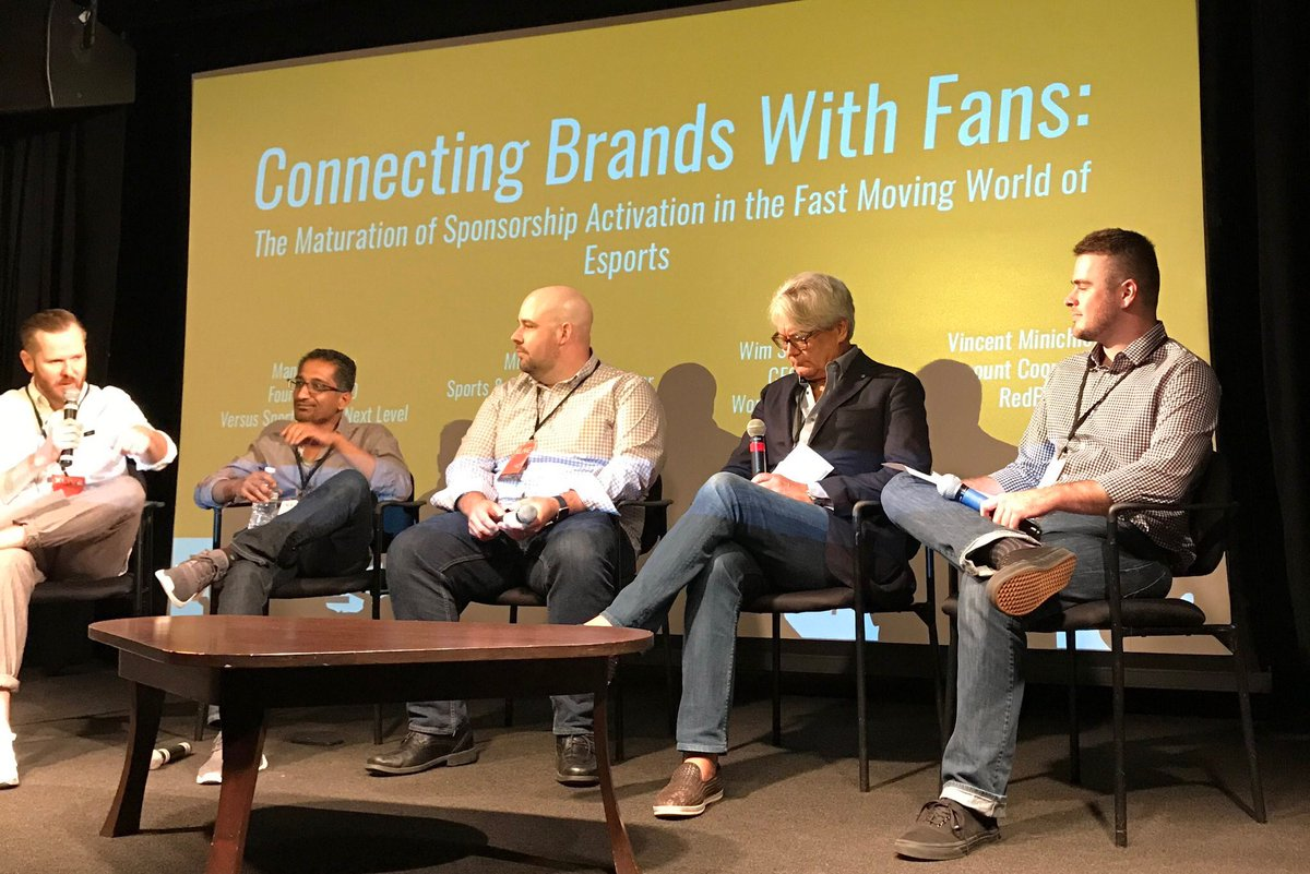 XLIVE eSports Summit: Connecting Brands With Fans Panel (Photo: ULT/ XLIVE)