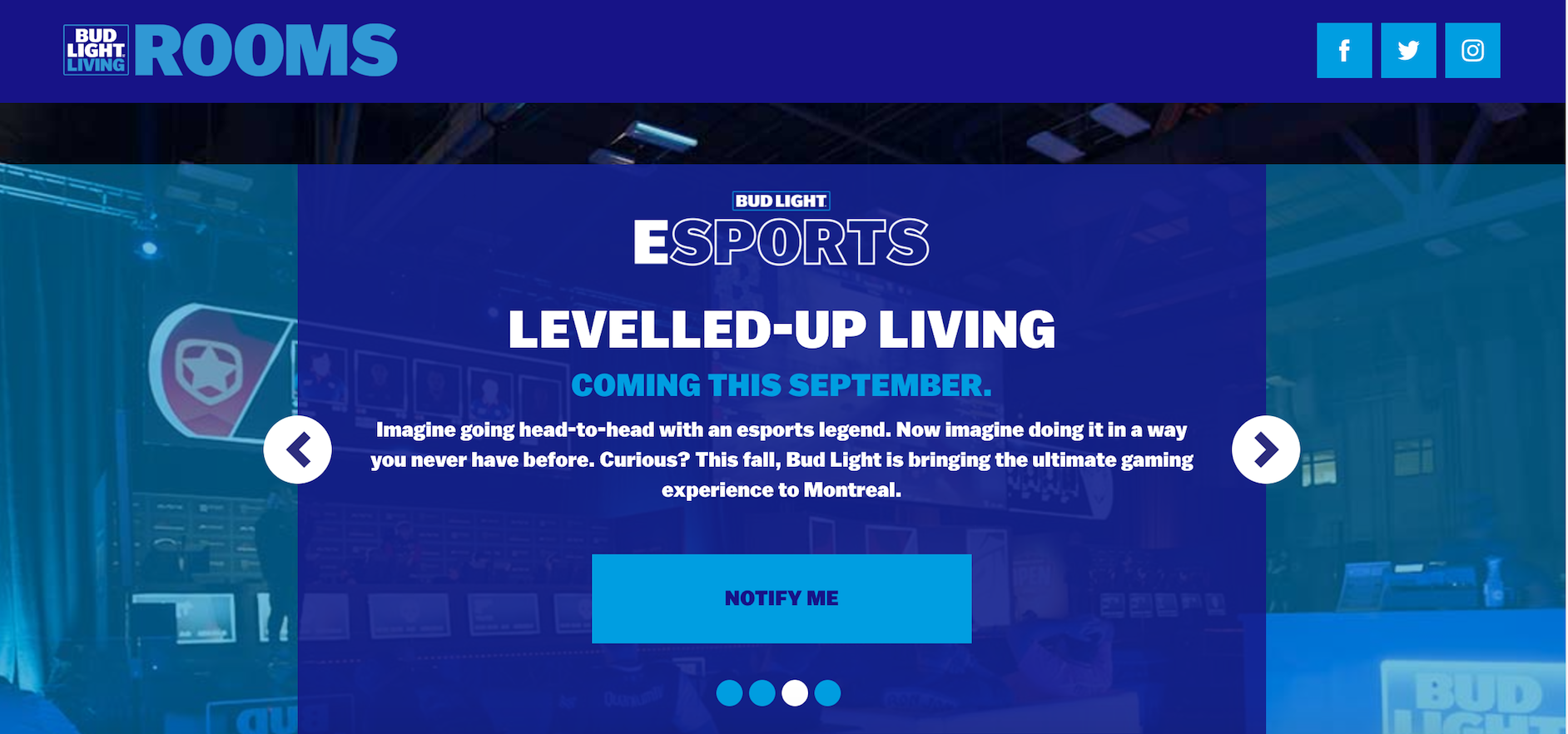 Bud Light's eSports Extension to Canada (Photo: Bud Light)