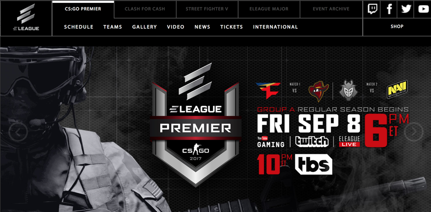 ELEAGUE's New Season (Photo: Turner)