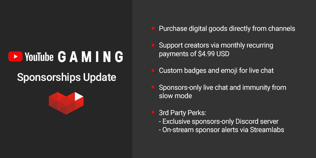 Youtube Sponsorship Details (Graphic: Twitter)
