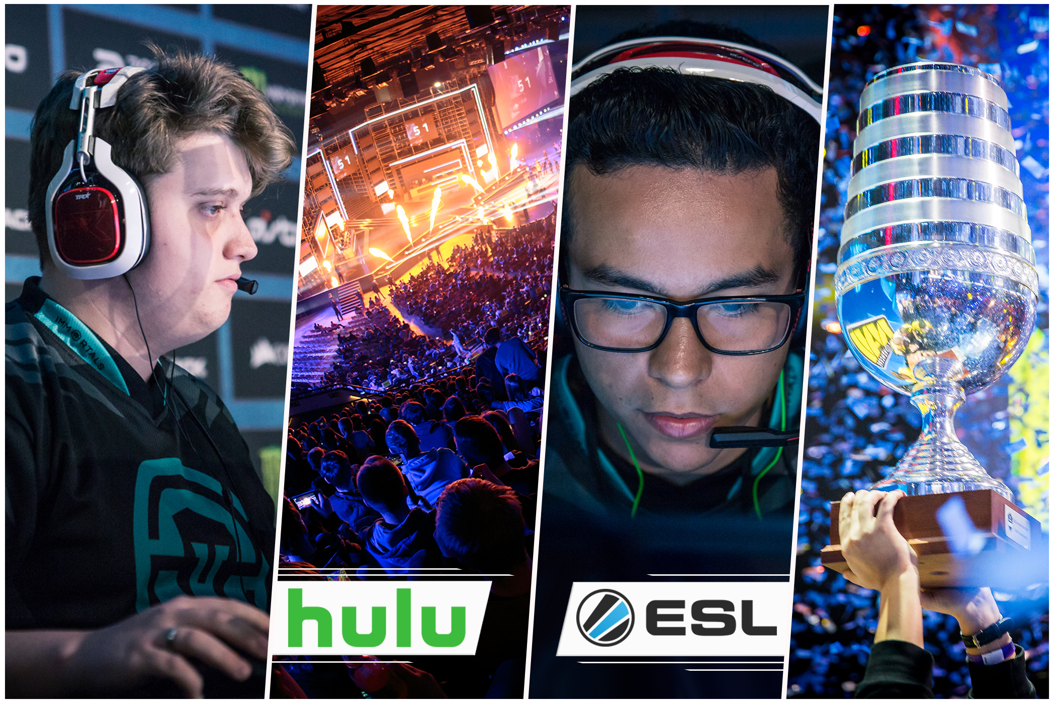Hulu and ESL's Exclusive eSports Content Deal (Photo: ESL)