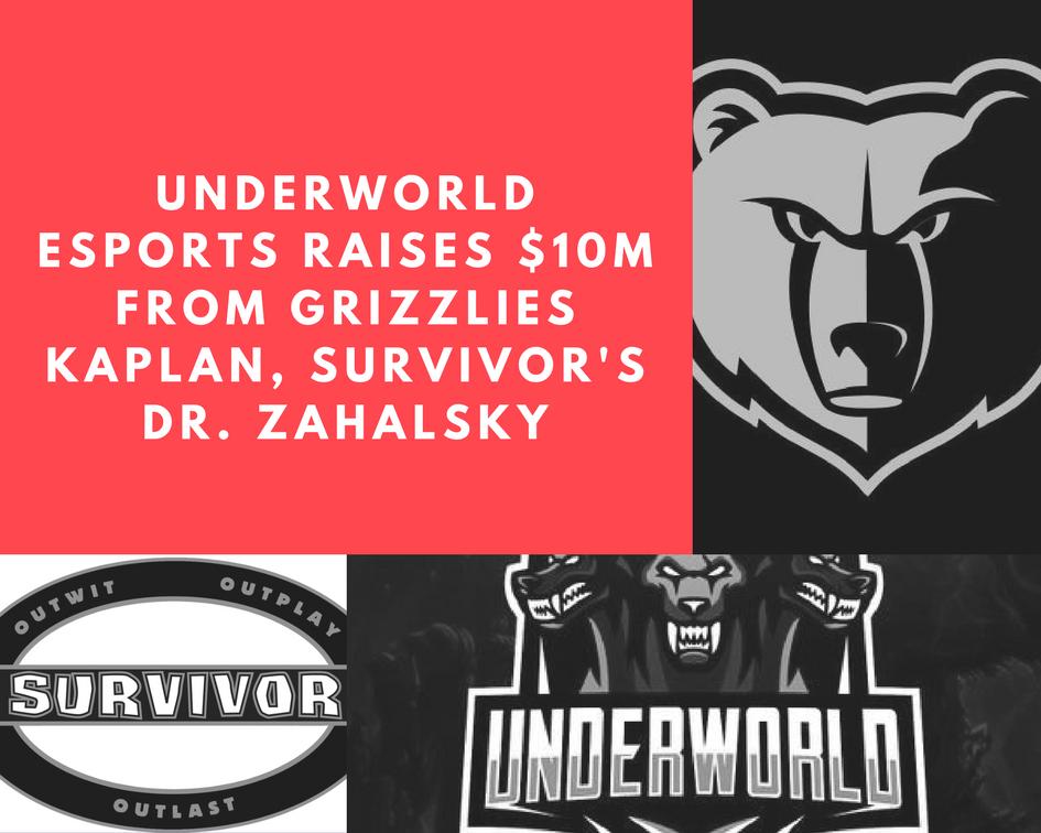 Exclusive: Underworld eSports Raises Up To $10M From Grizzlies Kaplan, Survivor's Dr. Zahalsky (Photo: The Next Level)