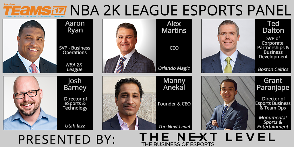 NBA 2K League Panel Presented by The Next Level (Photo: The Next Level)