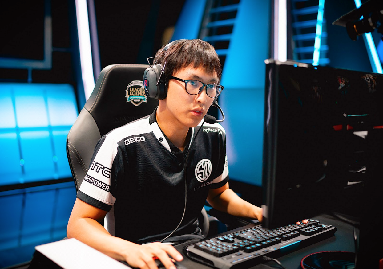 Doublelift Back and Boosting the League Numbers (Photo: CLICKON eSports)