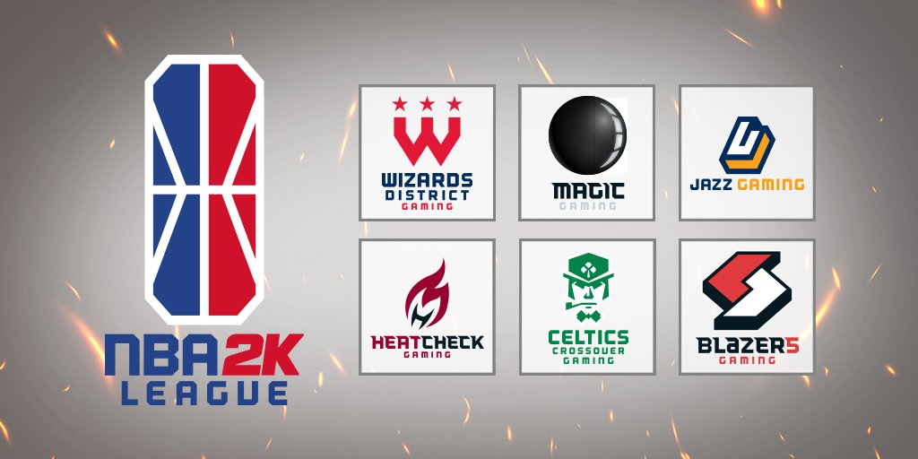 NBA 2K League and Team Logos (Photo: NBA)