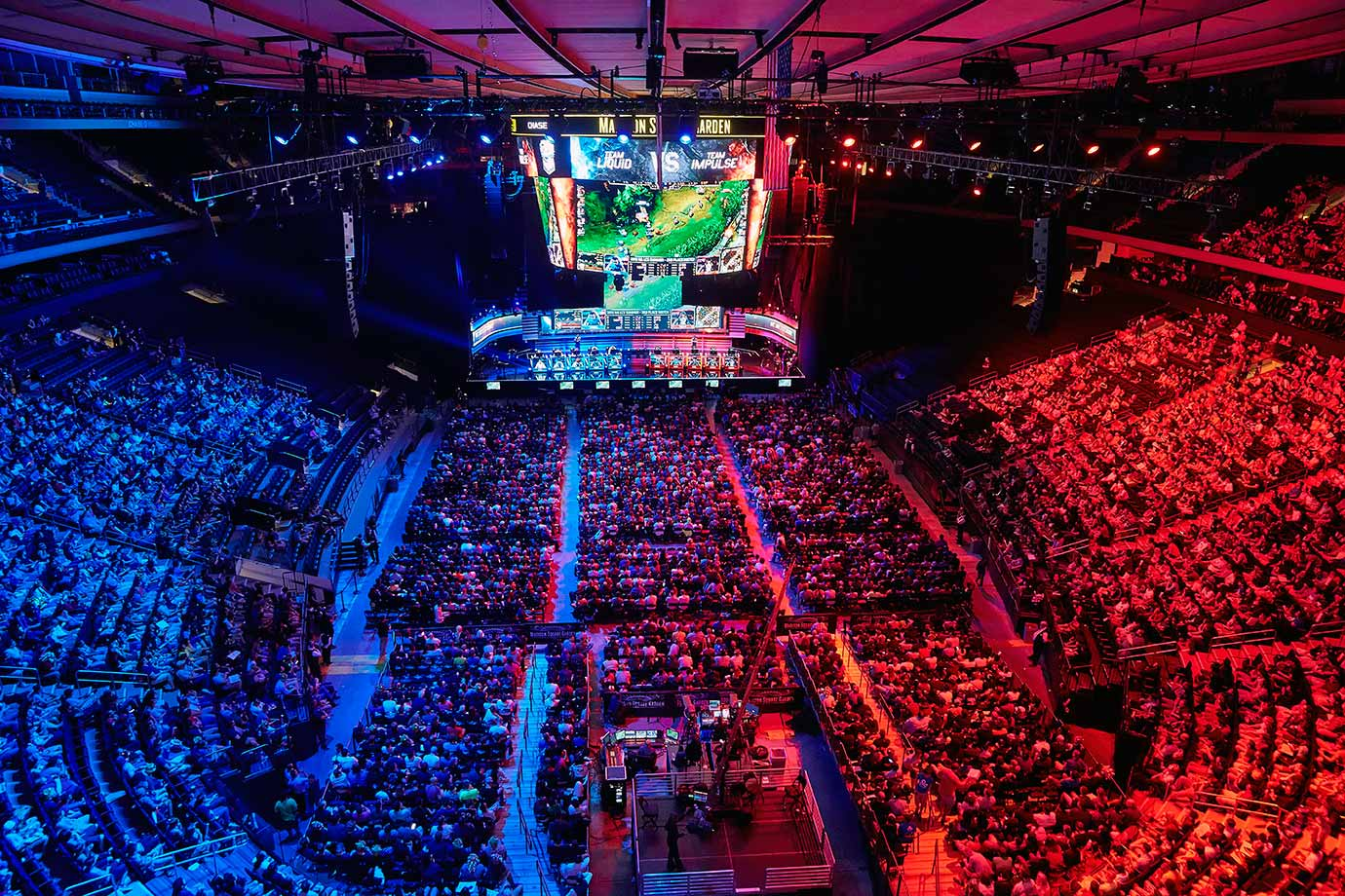 League of Legends at Madison Square Garden (Photo: Riot Games)