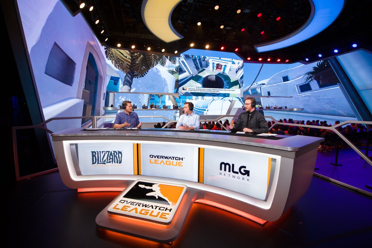 Overwatch League's Preseason drew viewers to Activision-Blizzard owned MLG.tv (Photo: OWL)