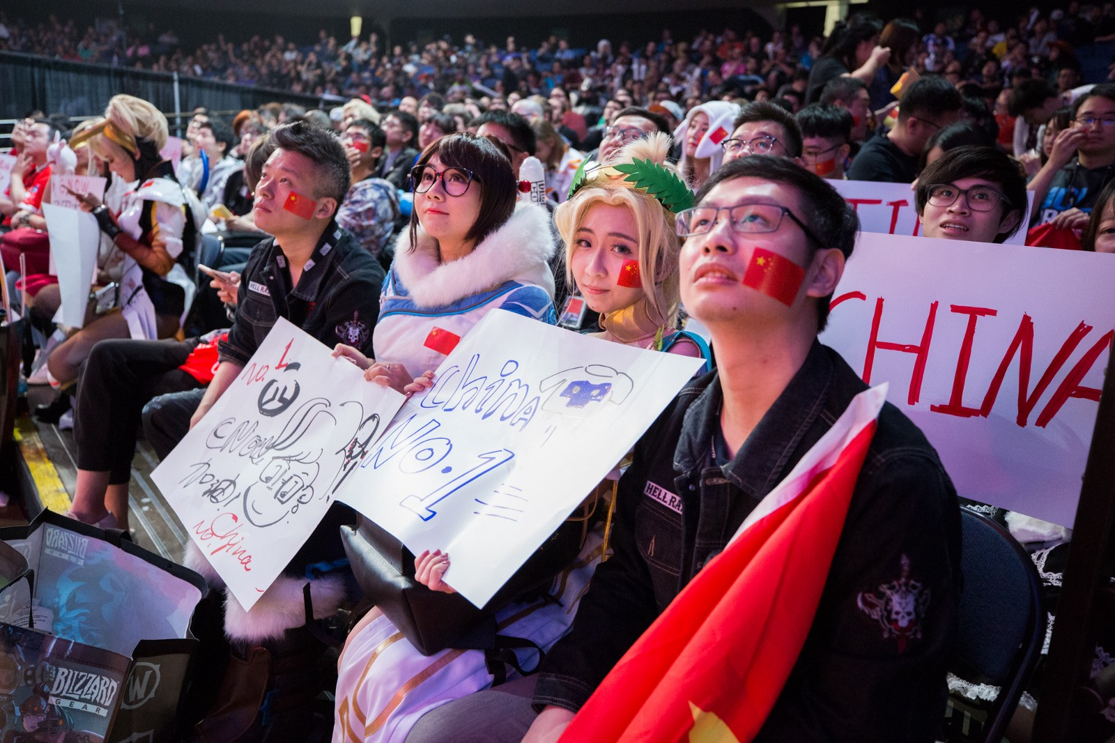 I sat close to this group during the World Cup. They were LOUD. (Photo: Robert Paul)