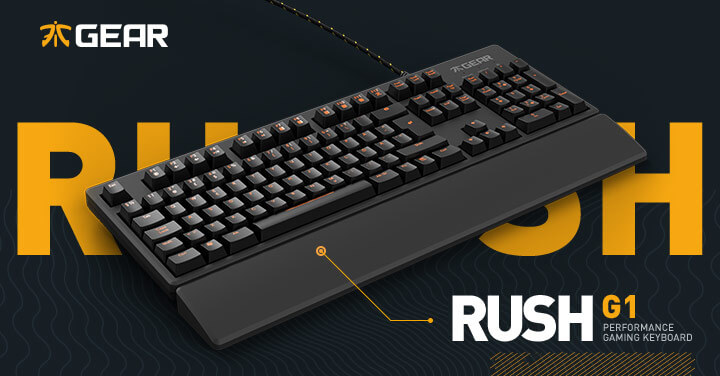 Fnatic Branded Keyboard (Photo: Fnatic)