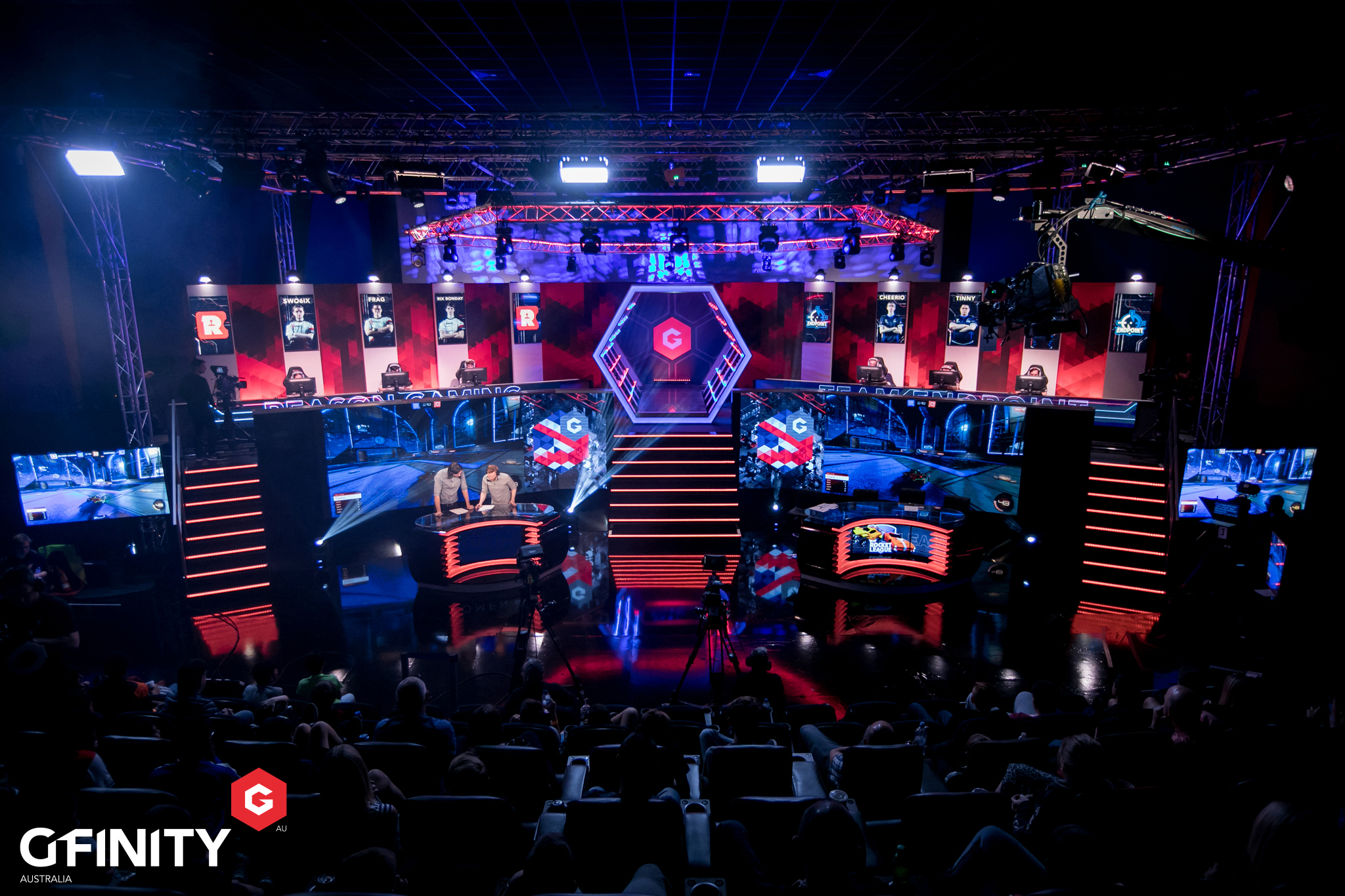 Gfinity In Australia (Photo: Joe Brady)