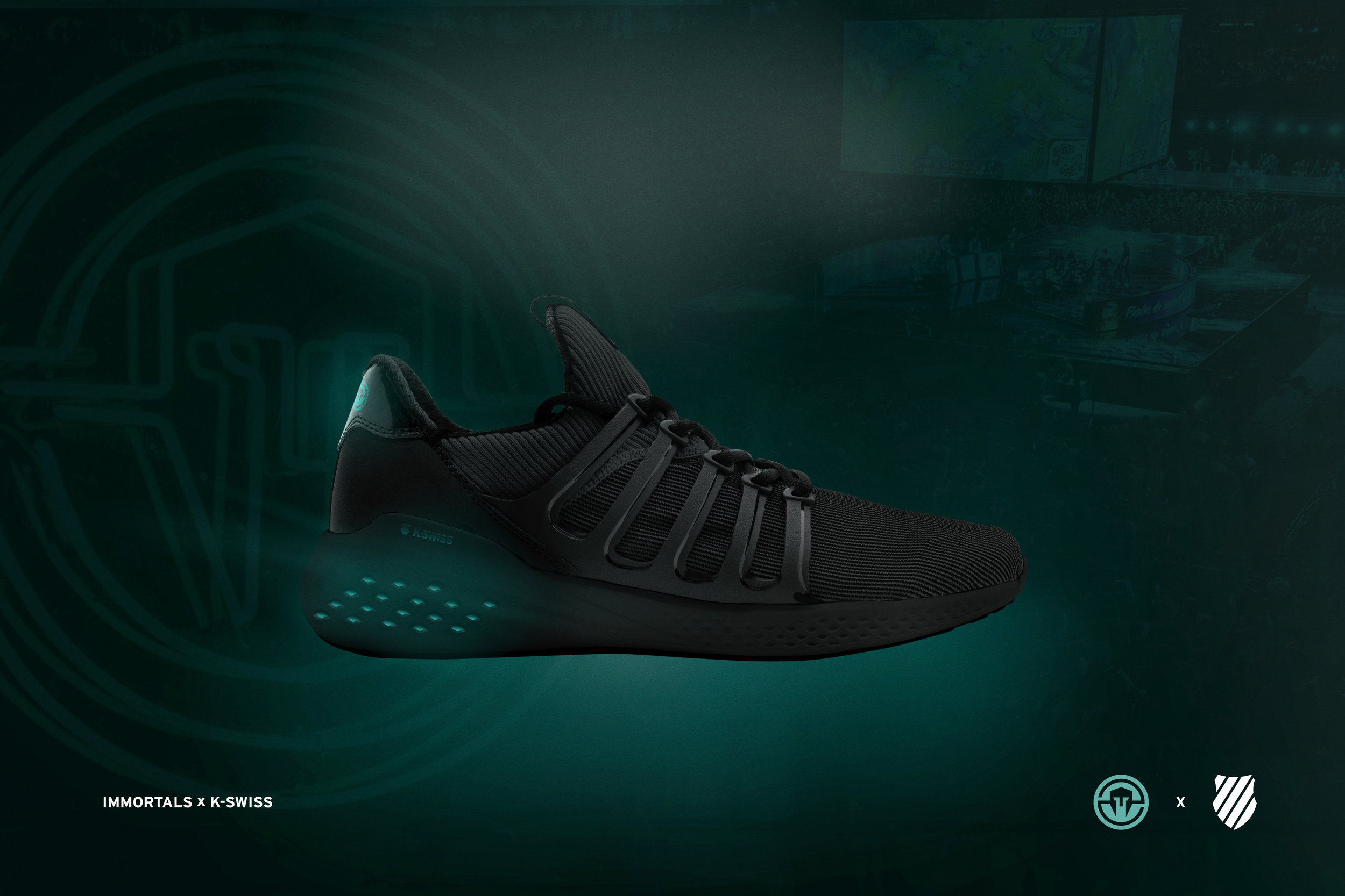 Photo: Immortals x K-Swiss