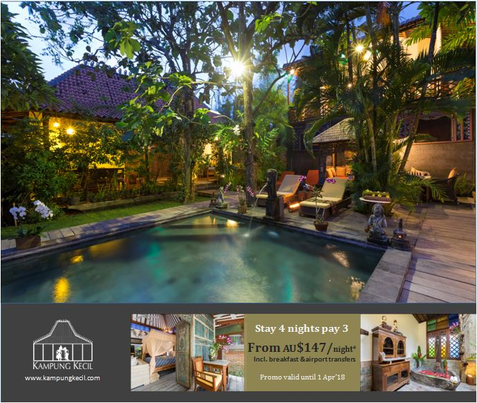 Enjoy your holiday to find rest and relaxation and make memories that you will treasure forever in Island of Gods - Bali
