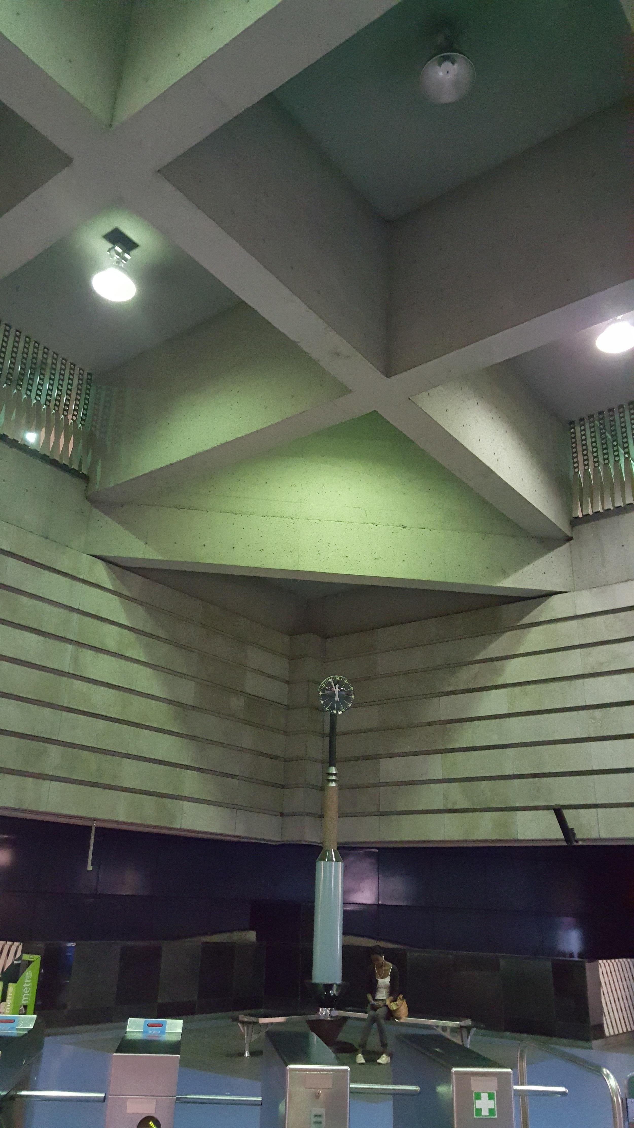 Montreal STM - Brutalism, Architecture