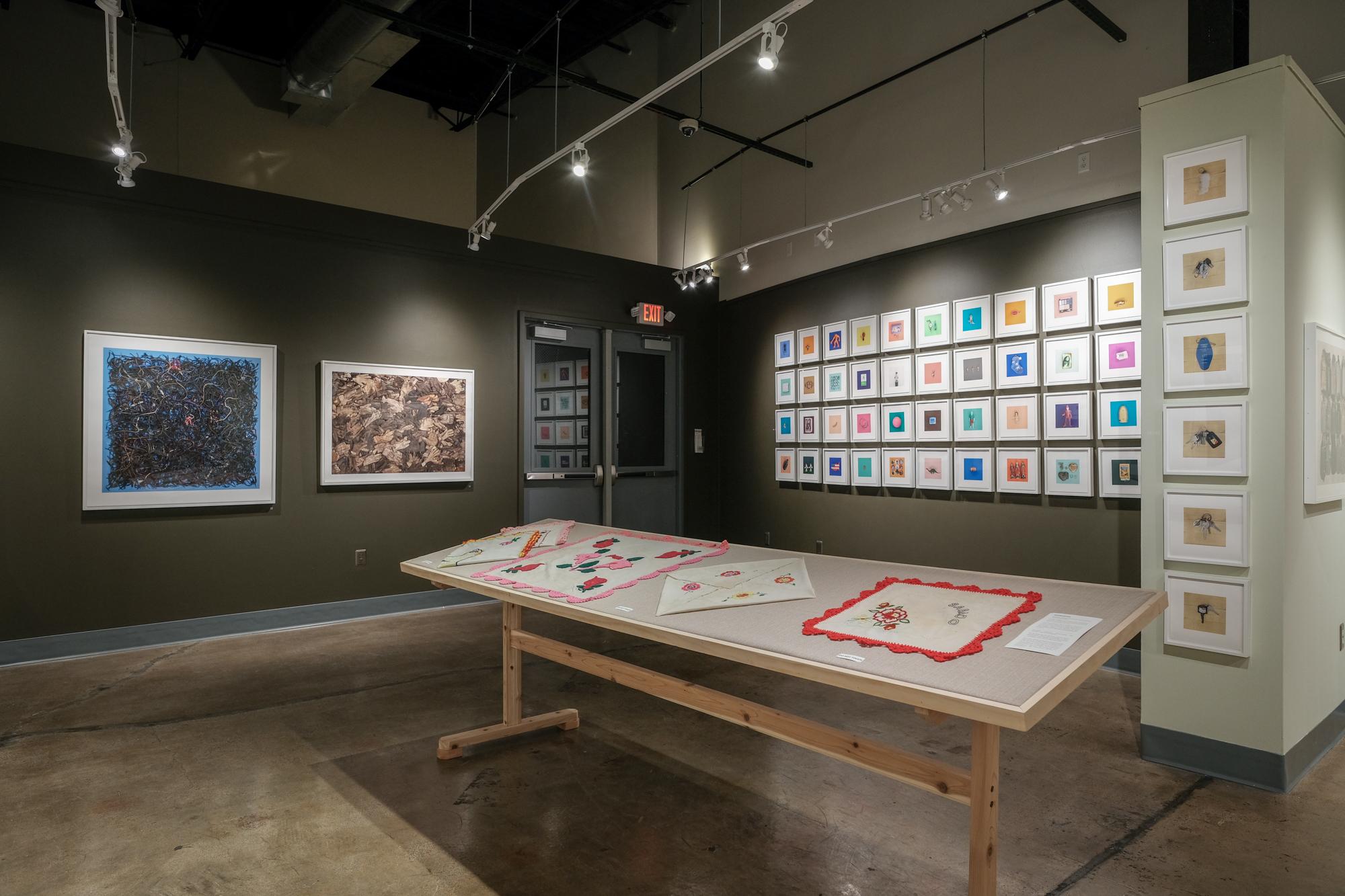 """Installation view """"El Sueño Americano - The American Dream"""" at  Saugatuck Center for the Arts , Saugatuck, Michigan 10/2018"""