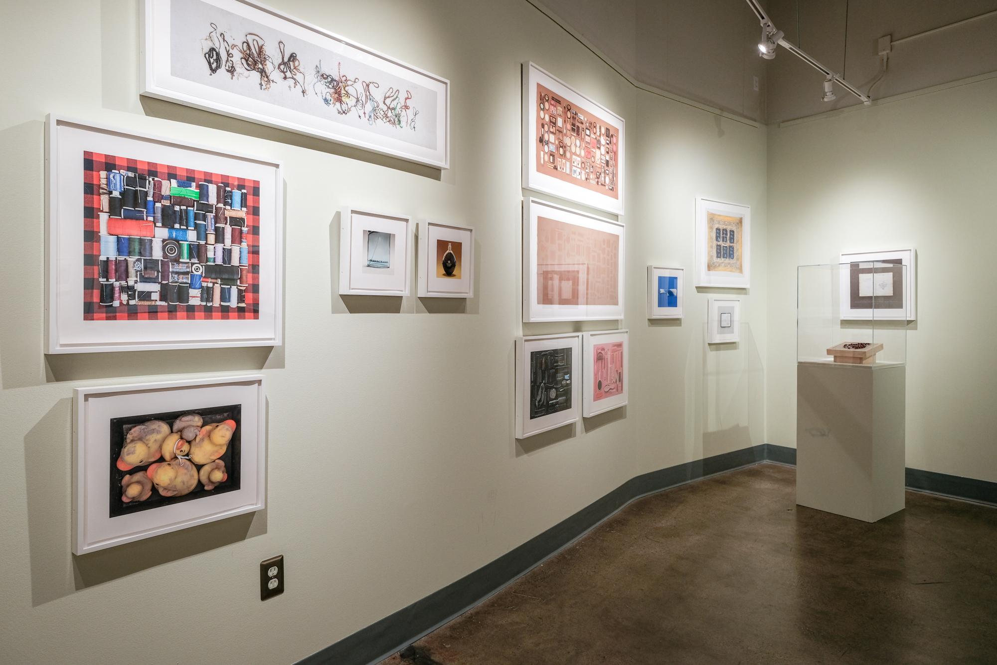 """Installation view of """"El Sueño Americano - The American Dream"""" at  Saugatuck Center for the Arts , Saugatuck, Michigan 10/2018"""