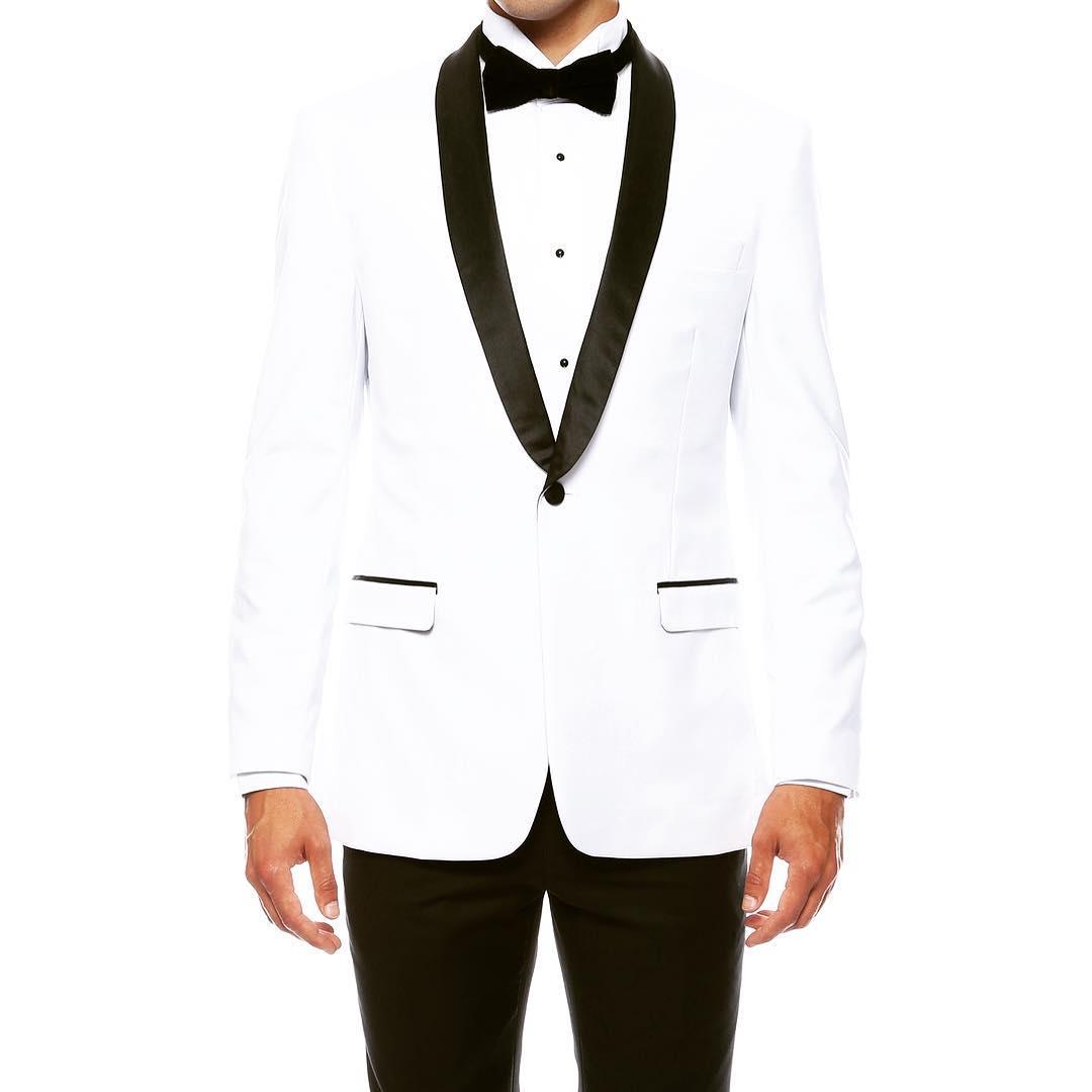 White Shawl Slim Fit Tuxedo