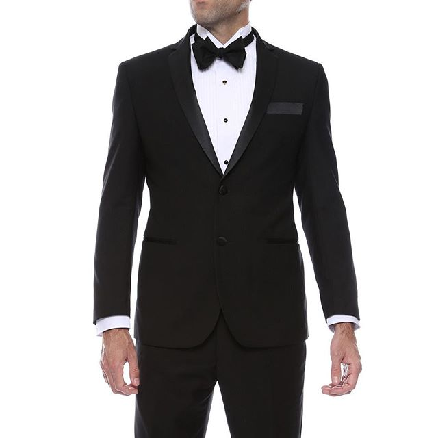 Black Notch Regular and Slim Fit Tuxedo
