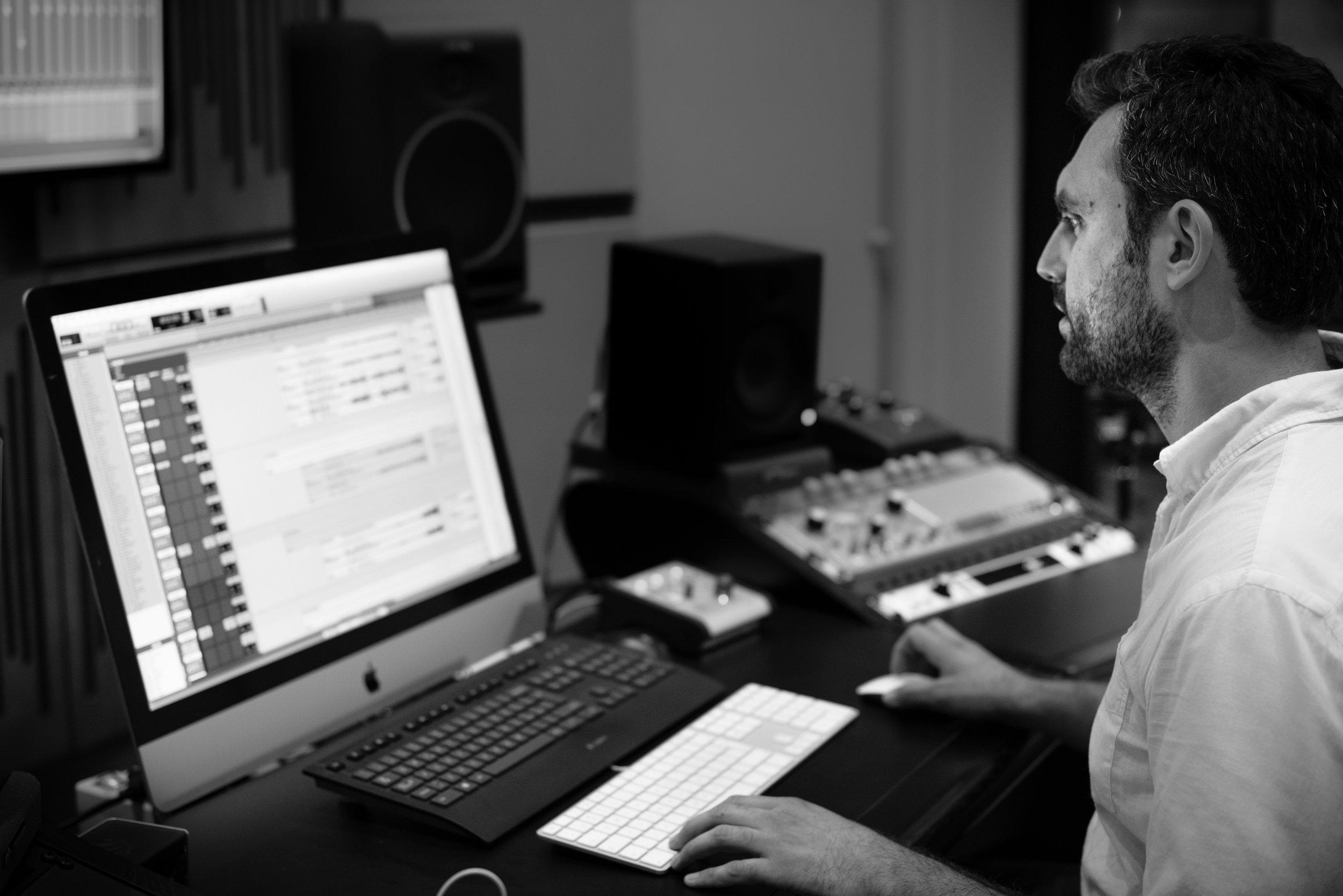 Composer Alessandro Mastroianni