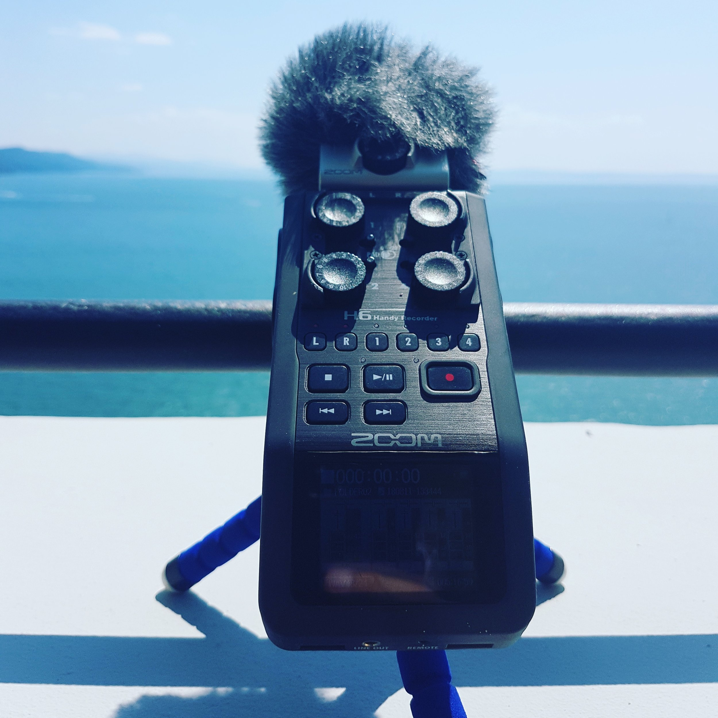 Field Recording in North-East Italy with a Zoom H6