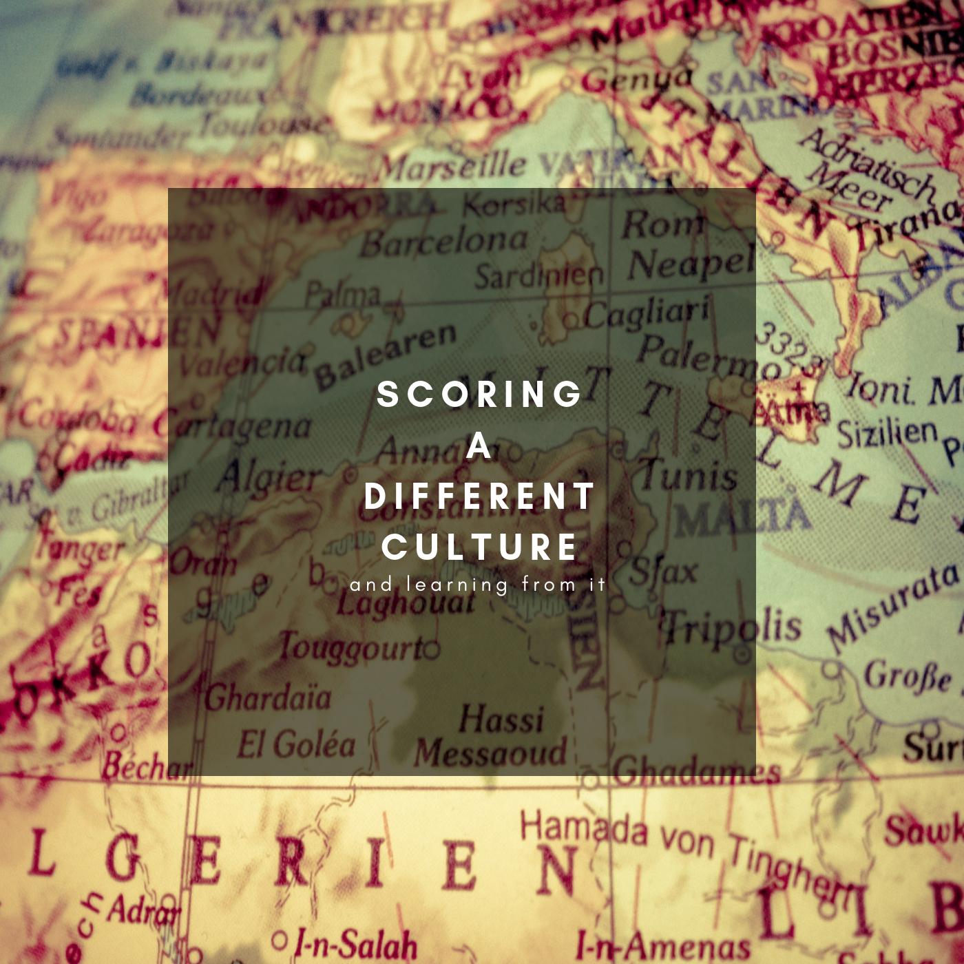 Scoring a Different Culture - Alessandro Mastroianni's Blog
