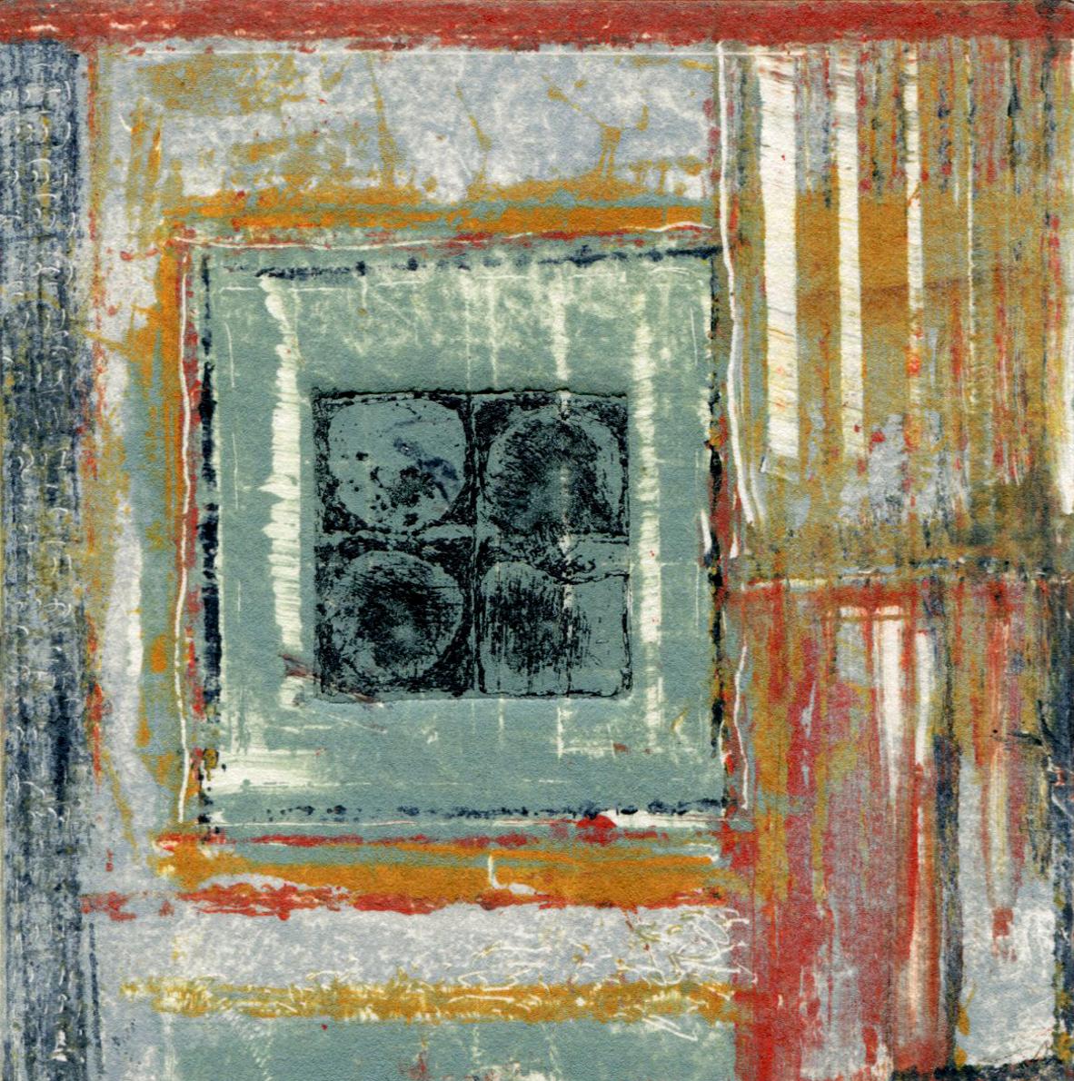 Vintage Fabric Square 7