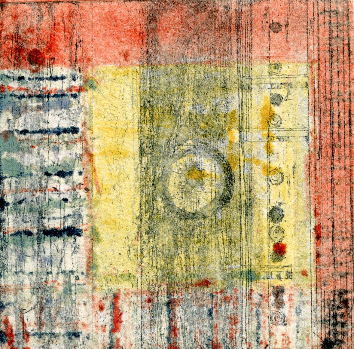 Vintage Fabric Square 1