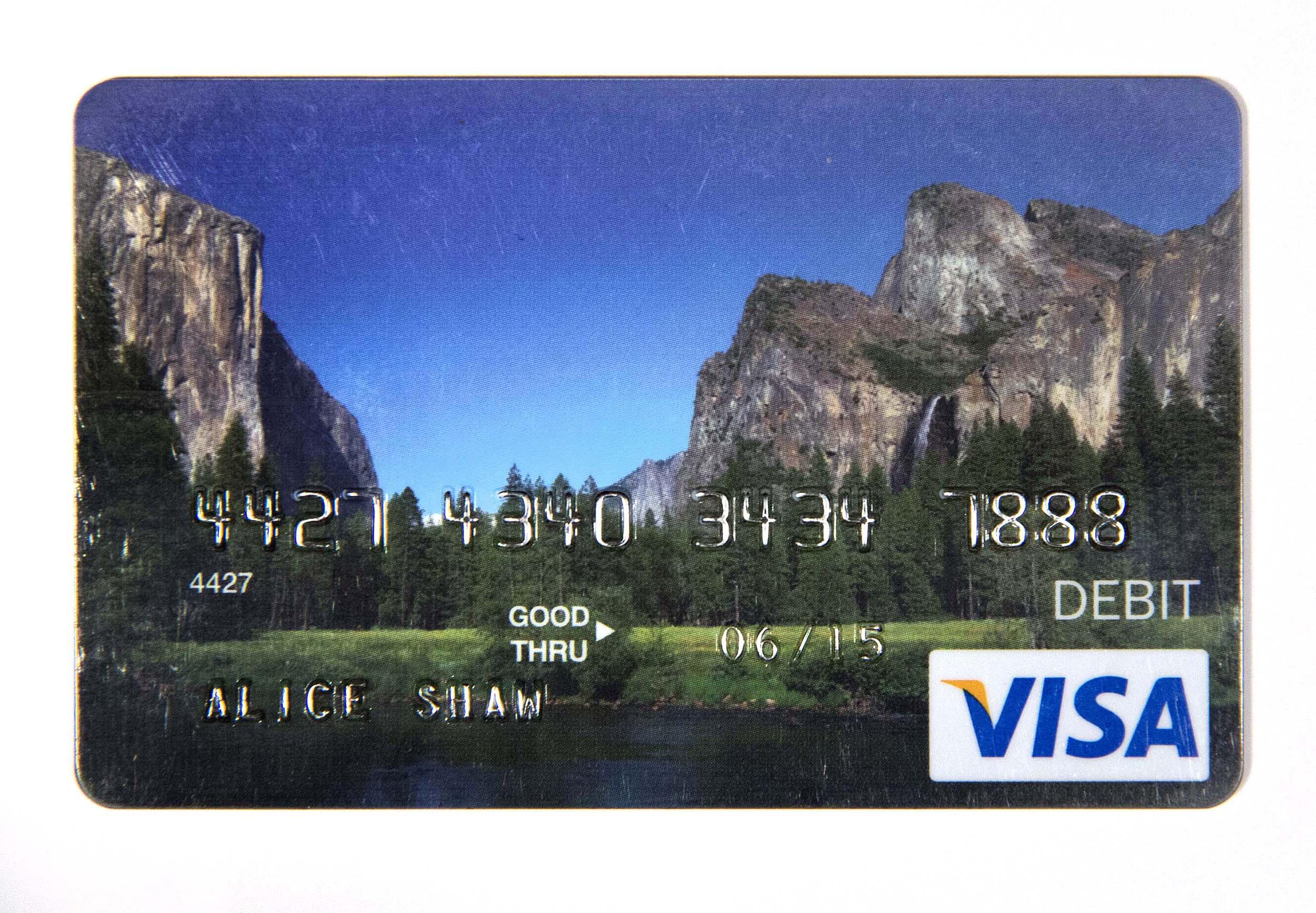 """Unemployment Debt Card, 2014, 2.25 x 3.5"""""""