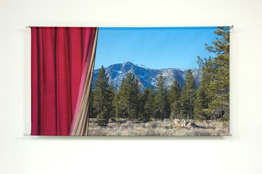 "Curtain Call, 2012, archival in on canvas, 43"" x 78"""