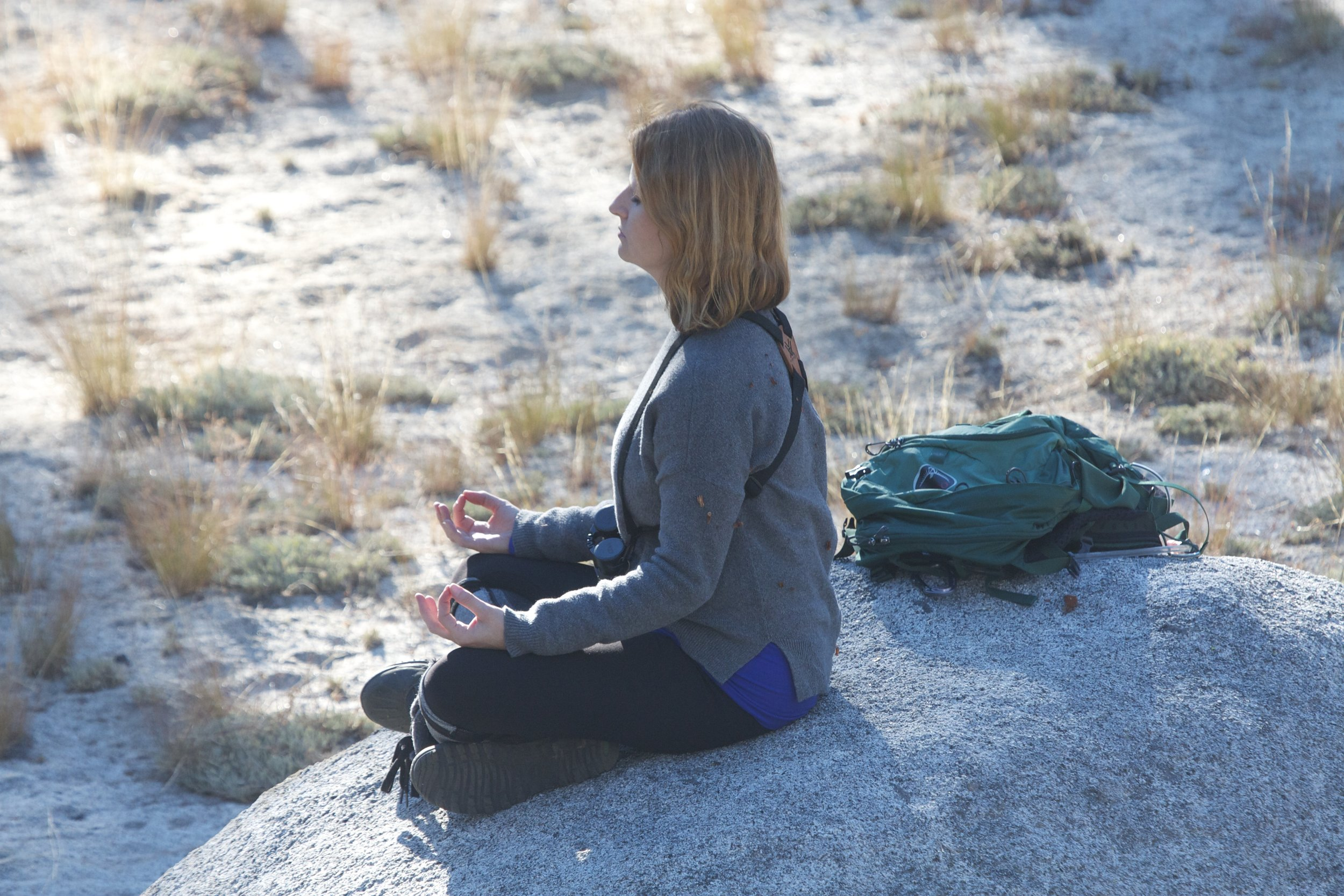 meditation in Yosemite