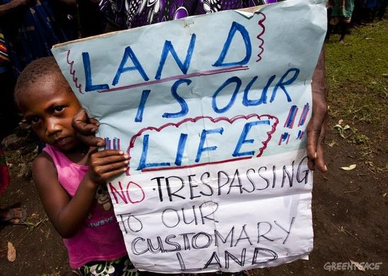 Indigenous Kid Protest