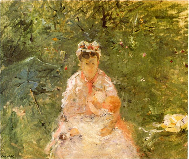 Berthe Morisot,  Wet Nurse , 1879.
